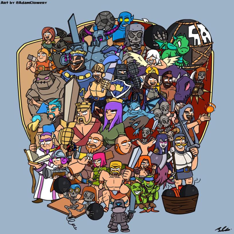 Game Yang Dirilis Oleh Supercell
