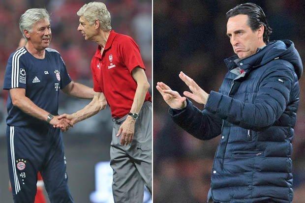 Wenger Sebenarnya Rekomendasikan Ancelotti Sebagai Pelatih Bukan Emery!