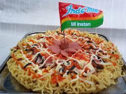 Cara Membuat Pizza Mie
