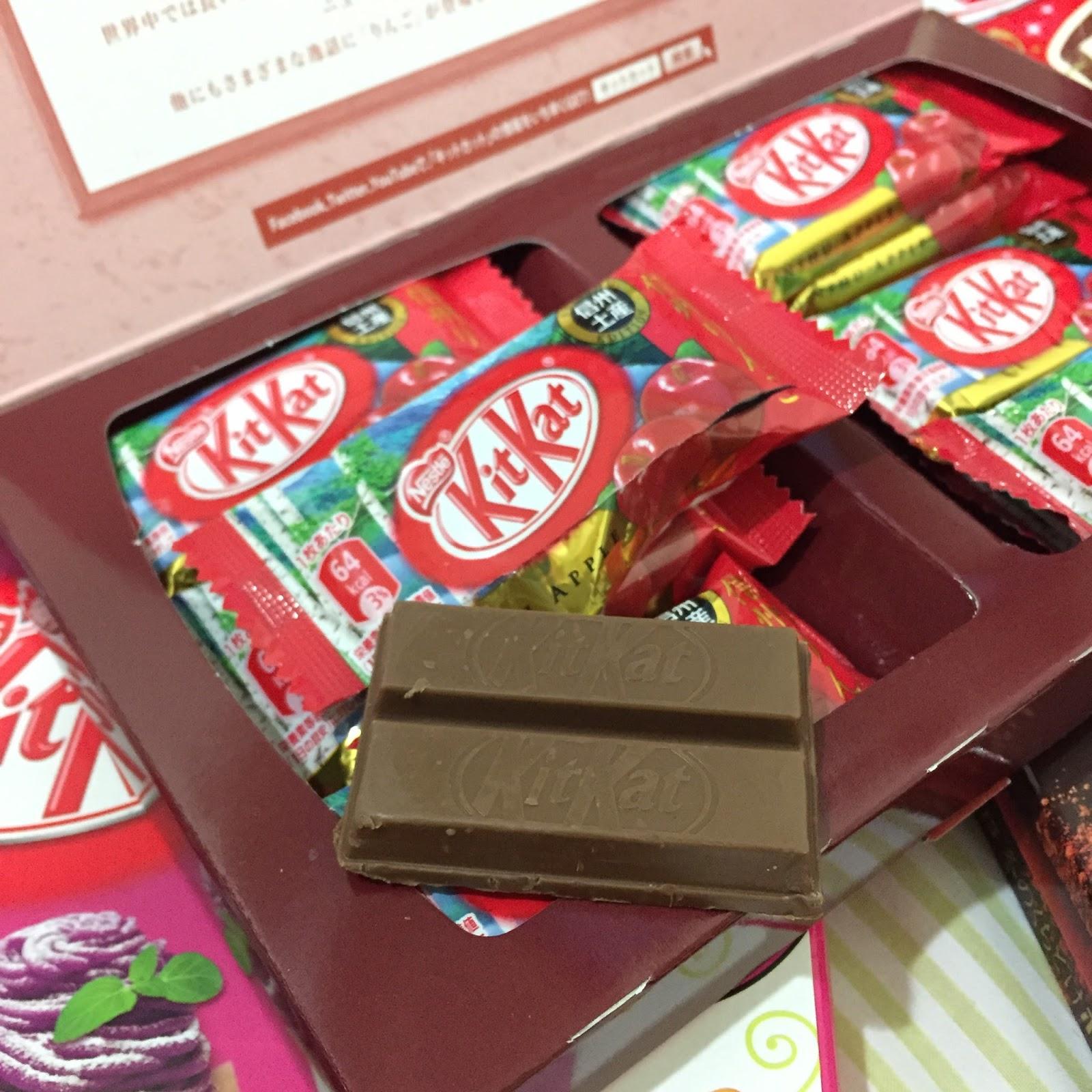 Macam macam rasa KitKat