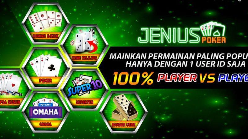Jeniuspoker Ialah Situs Idn Poker Terbaik